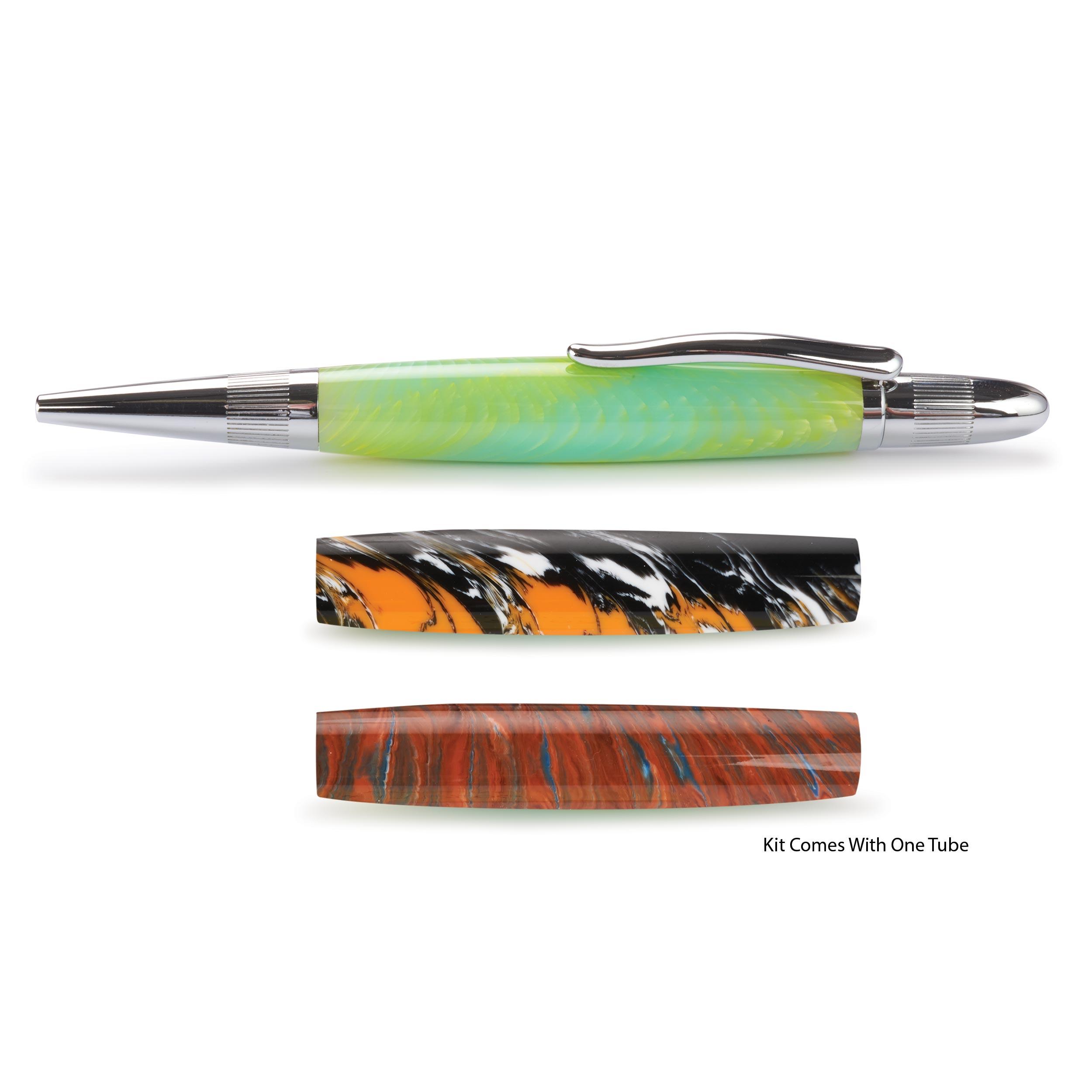 Pulsar Twist Ballpoint Pen Kit - Chrome