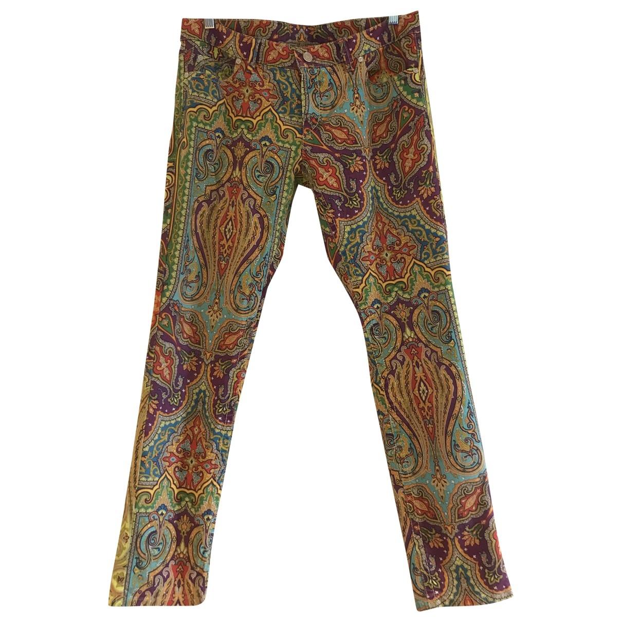 Bogner \N Multicolour Cotton Trousers for Women 10 US
