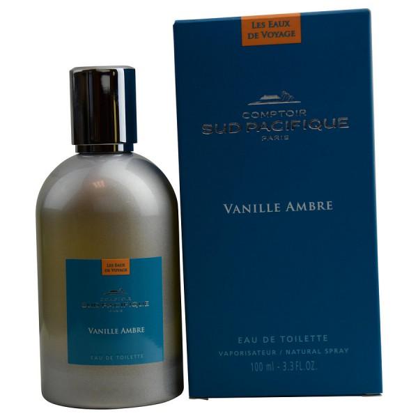 Comptoir Sud Pacifique - Vanille Ambre : Eau de Toilette Spray 3.4 Oz / 100 ml