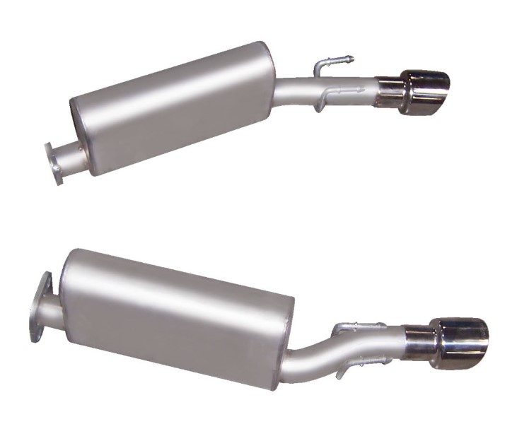 Gibson Performance 618000 Stainless Axle Back Dual Exhaust System
