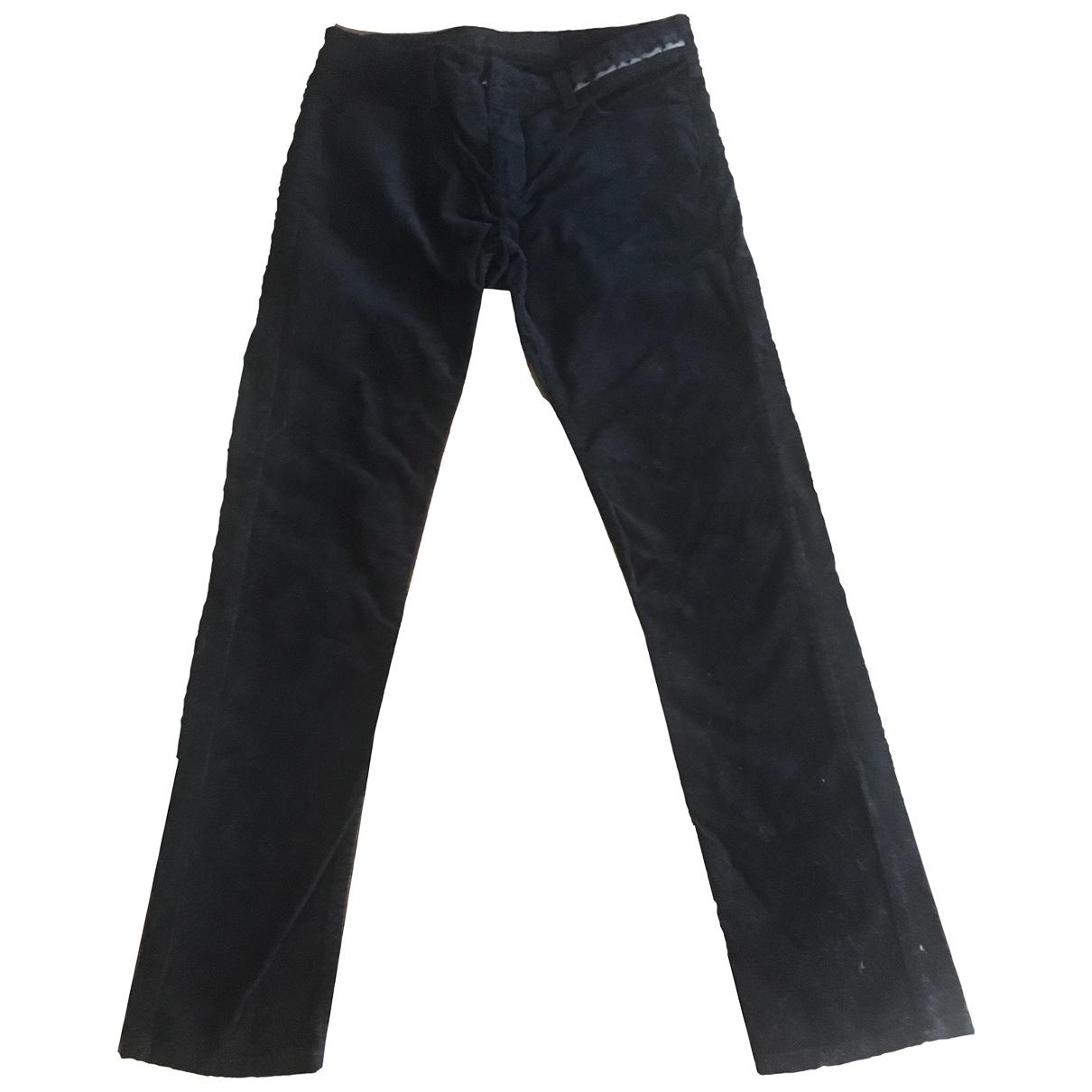Zadig & Voltaire \N Black Cotton Jeans for Women 36 FR