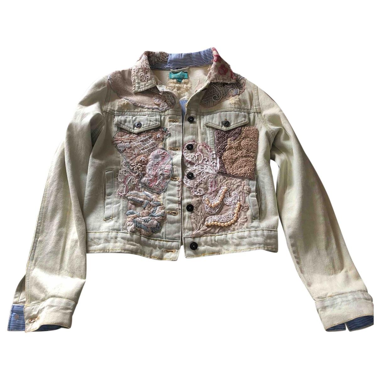 Non Signé / Unsigned \N Beige Cotton jacket for Women M International