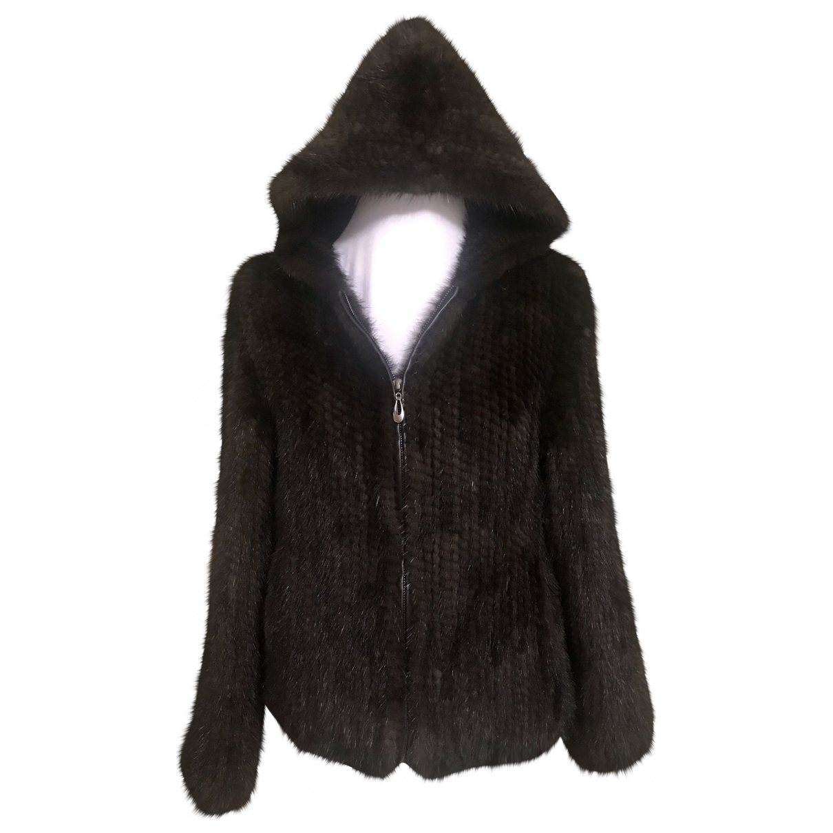 Non Signé / Unsigned \N Brown Mink jacket for Women S International