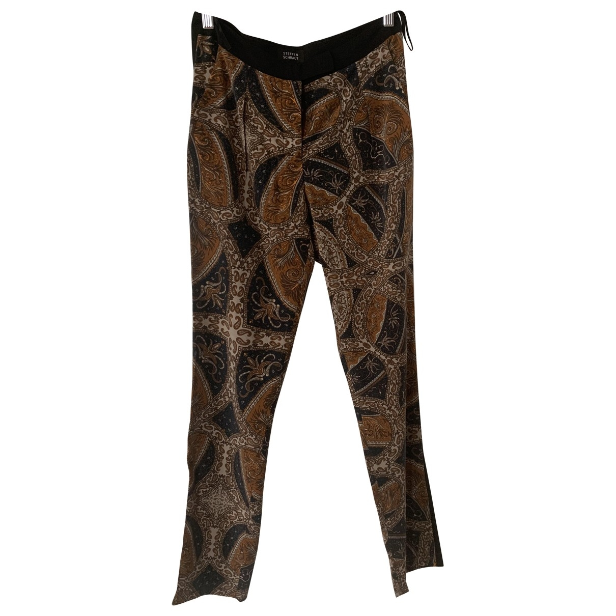 Steffen Schraut \N Silk Trousers for Women S International