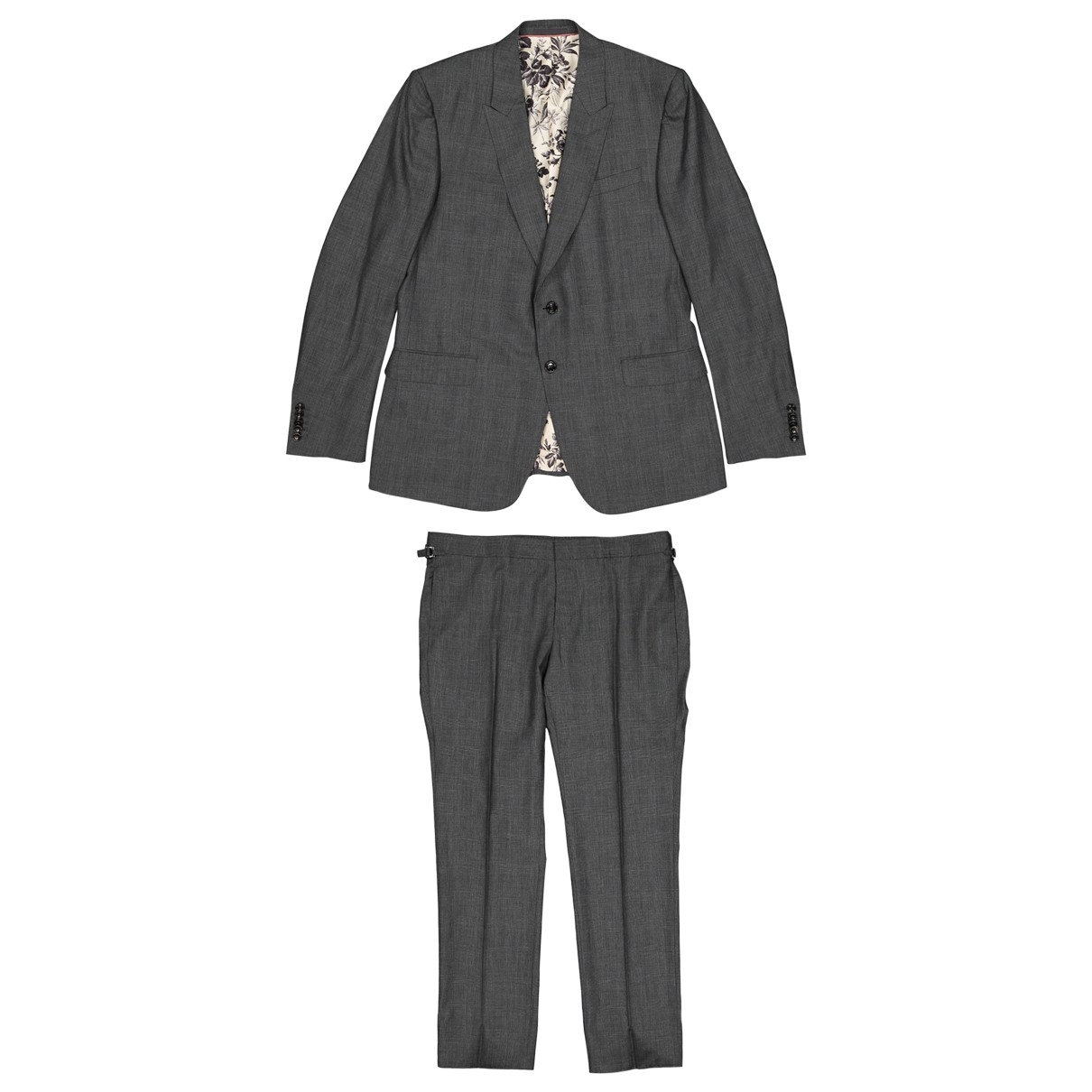 Gucci \N Anthracite Cashmere Suits for Men 56 IT