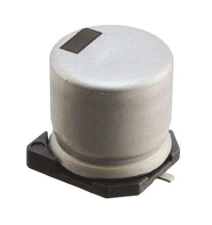 Vishay 220μF Electrolytic Capacitor 35V dc, Surface Mount - MAL216099001E3 (2)