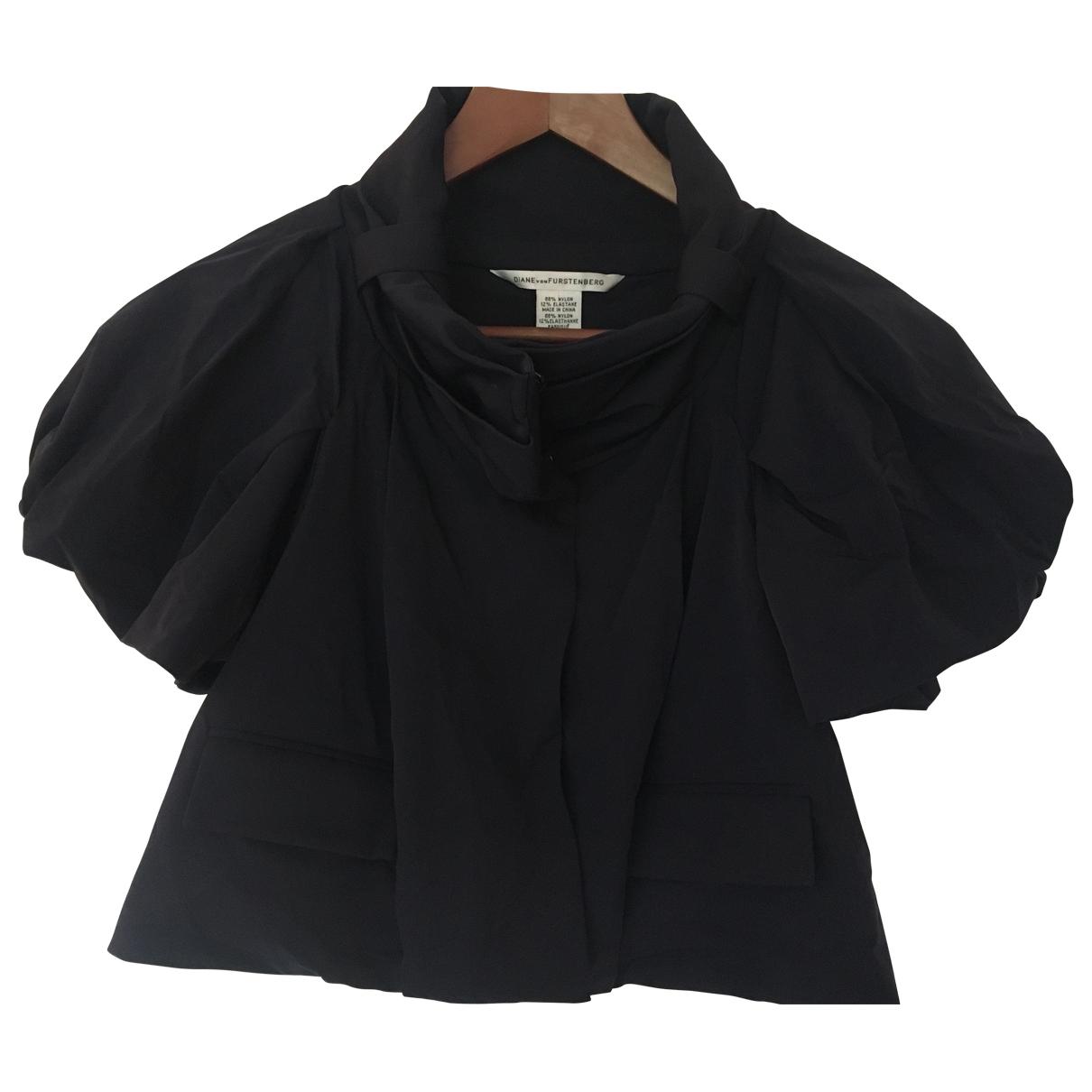 Diane Von Furstenberg \N Navy jacket for Women 0 0-5