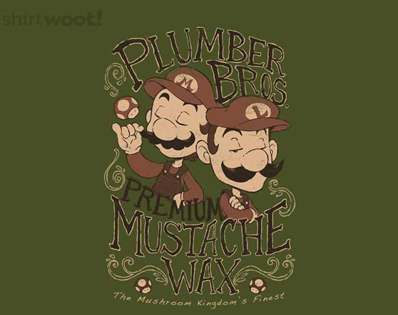 Super Movember Bros T Shirt