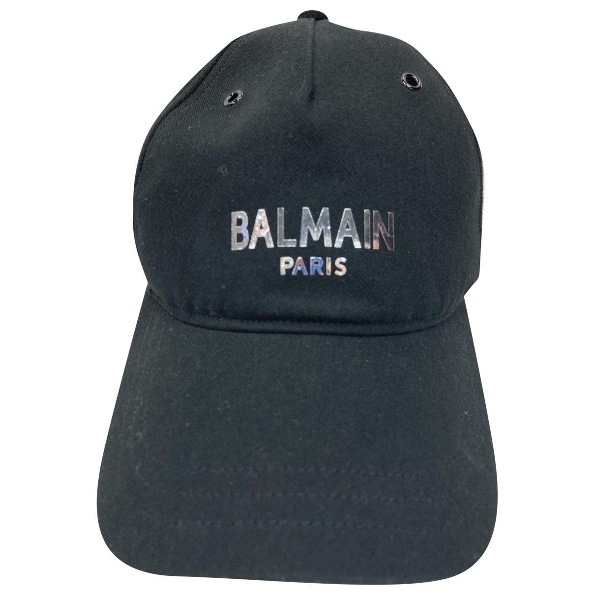 Balmain \N Black Cloth hat & pull on hat for Men 56 cm