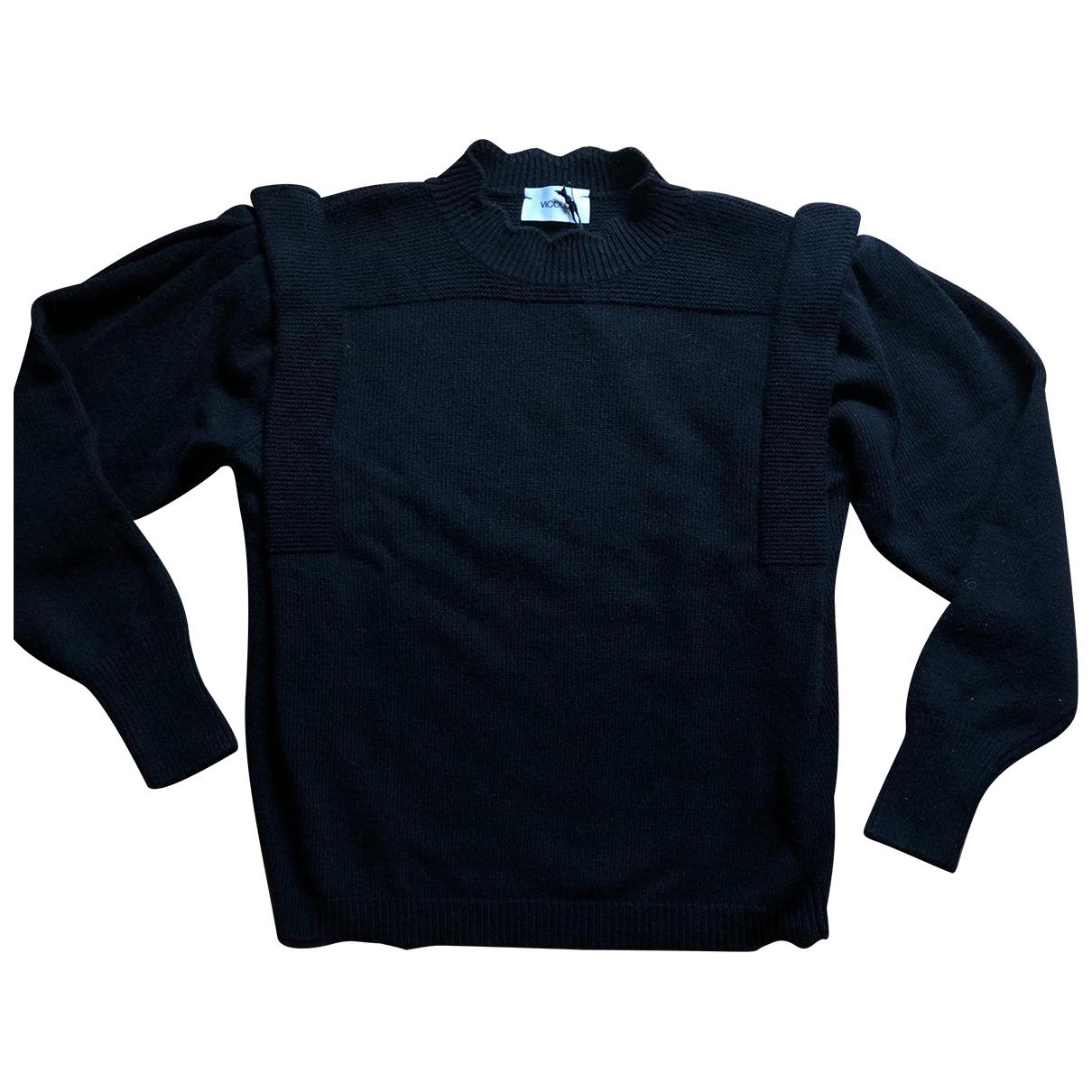 Vicolo \N Black Wool Knitwear for Women One Size IT