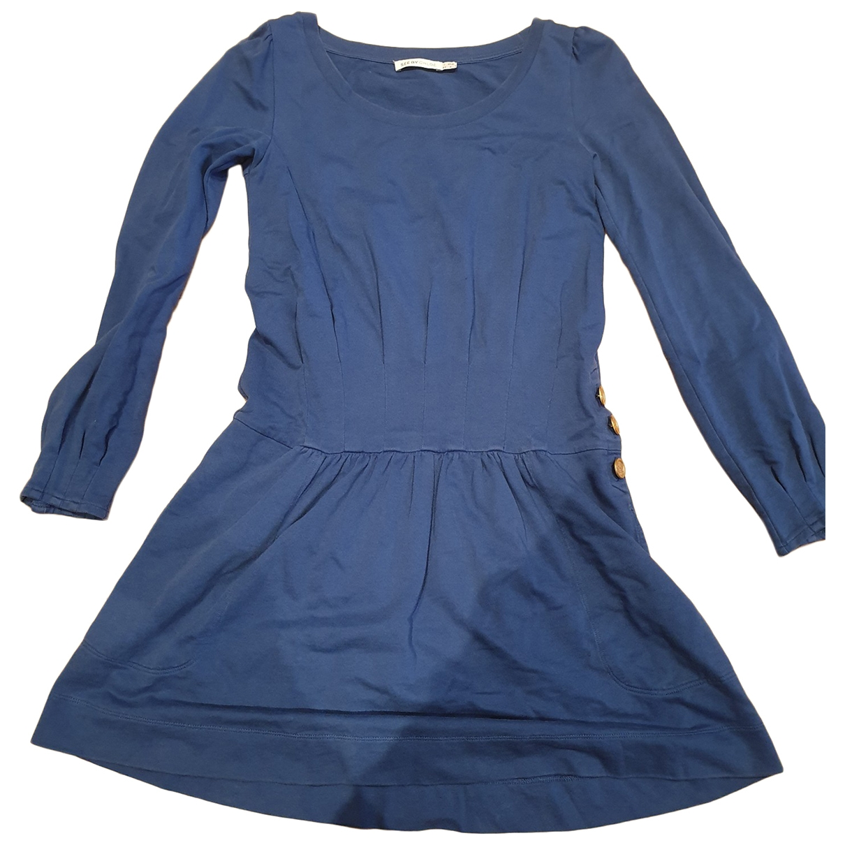 See By Chlo?? \N Blue Cotton dress for Women 38 FR