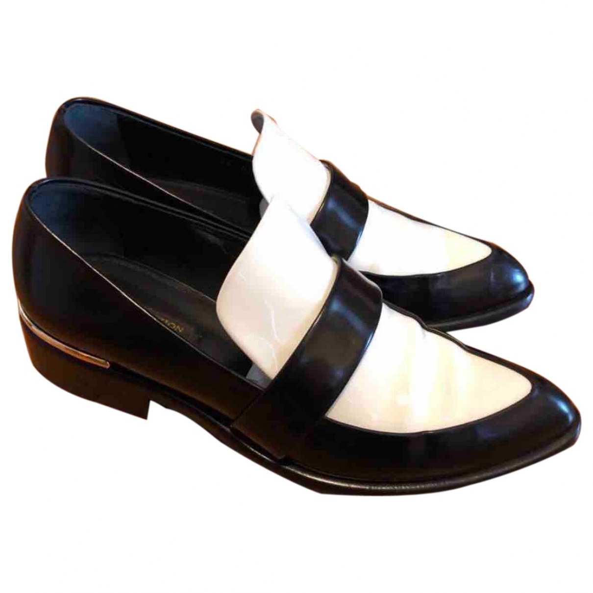 Louis Vuitton \N Black Patent leather Flats for Women 36 EU