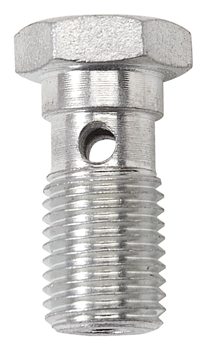 Russell BANJO BOLT 3/8-24 CLEAR ZINC PLATED