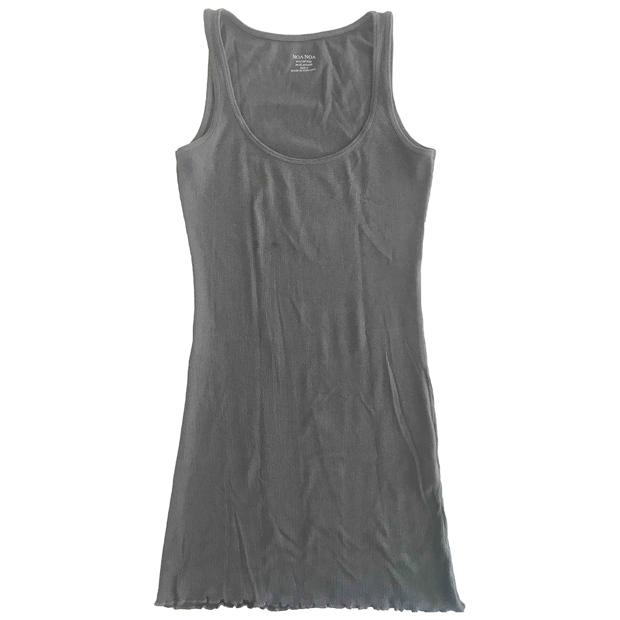 Non Signé / Unsigned \N Grey Cotton  top for Women S International