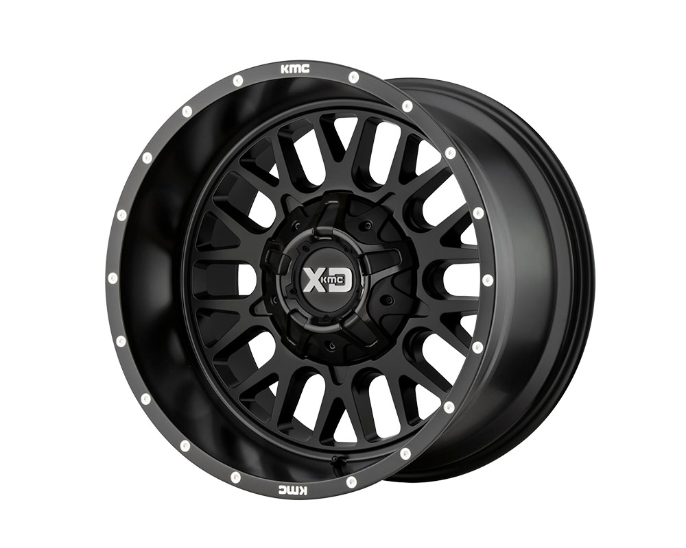 XD Series XD84221267744N XD842 Snare Wheel 20x12 6x6x135/6x139.7 -44mm Satin Black