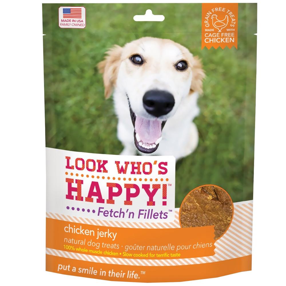 Look Who's Happy! - Fetch'n Fillets - Chicken Jerky (4 oz)