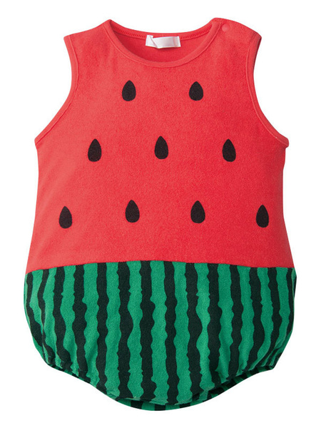 Milanoo Kids Watermelon Strawberry Pineapple Cosplay Costume Infant Baby Clothes Halloween