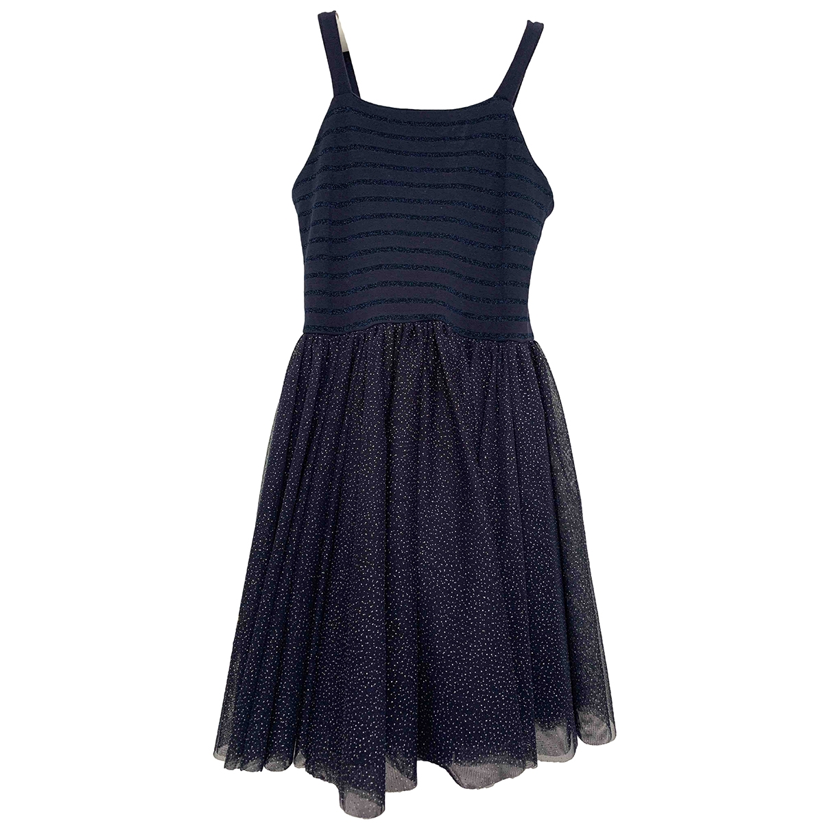 Petit Bateau \N Navy Cotton - elasthane dress for Kids 8 years - up to 128cm FR