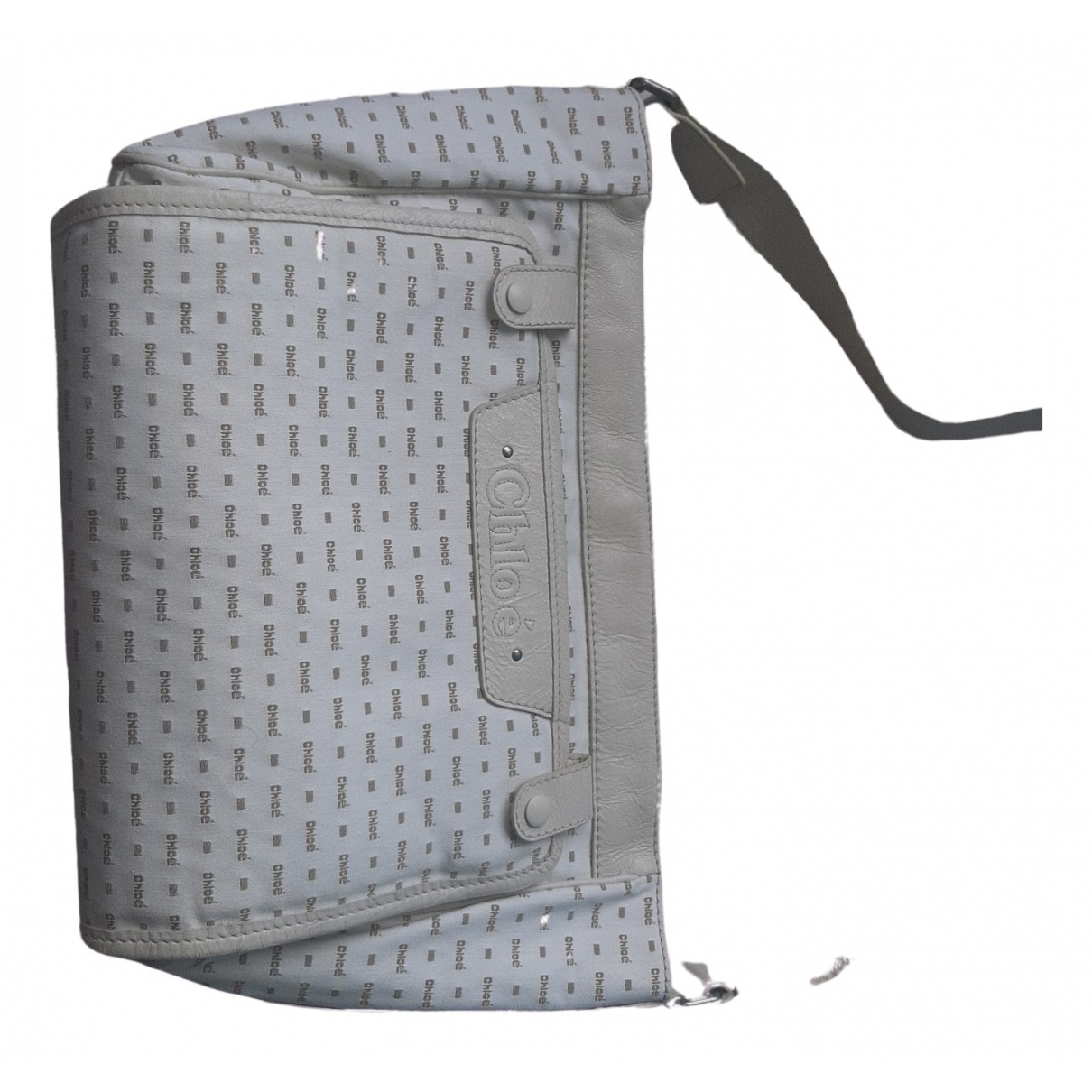 Chloé \N Beige Leather bag & Pencil cases for Kids \N