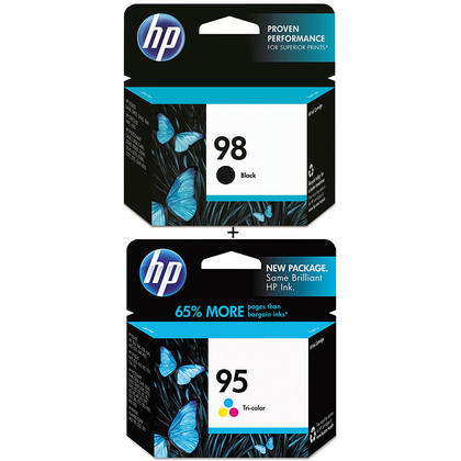 HP 95 C8766WN HP 98 C9364WN Original Ink Cartridge Combo