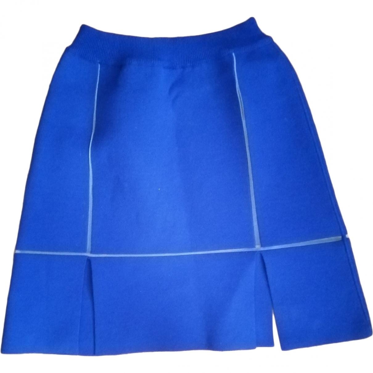 Courrèges \N Blue skirt for Women 36 FR