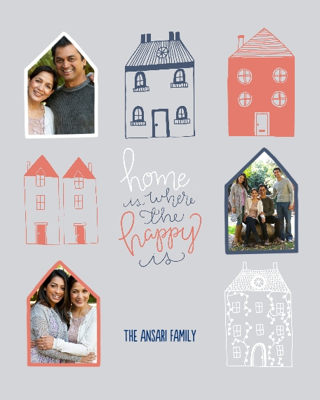 Family + Friends 8x10 Designer Print - Glossy, Prints -Home is Where the Happy is