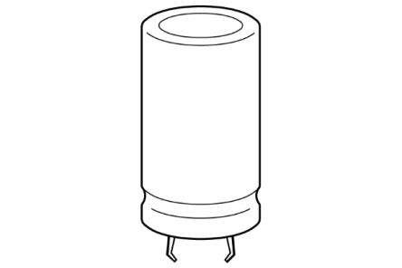 EPCOS 2200μF Electrolytic Capacitor 63V dc, Snap-In - B41231A8228M000 (160)