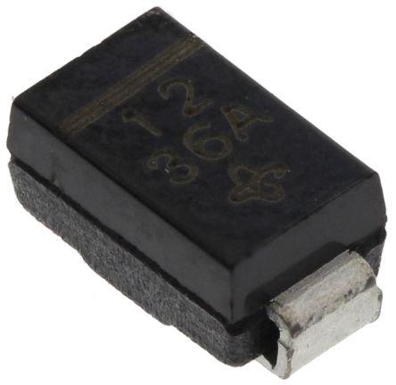Vishay , 12V Zener Diode ±10% 1 W SMT 2-Pin SMA (5)