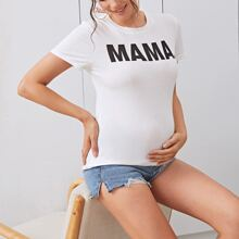 Maternity Letter Graphic Top