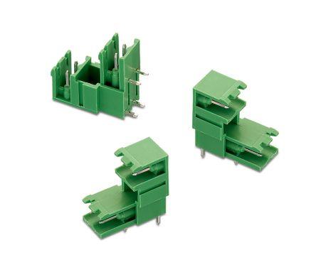 Wurth Elektronik , WR-TBL, 3355, 4 Way, 2 Row, Horizontal PCB Header (100)
