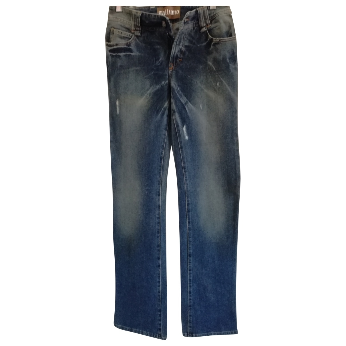 Galliano \N Blue Denim - Jeans Jeans for Women 34 US