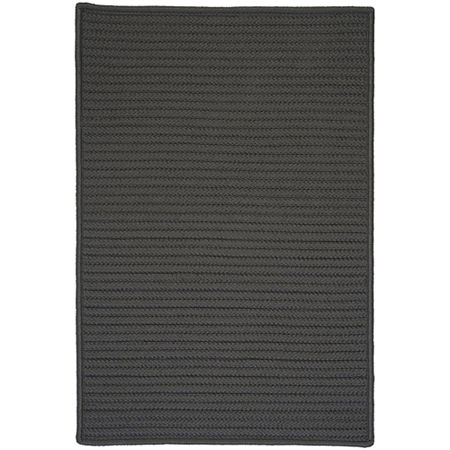 Colonial Mills Nantucket Reversible Braided Indoor/Outdoor Rectangular Rug, One Size , Gray