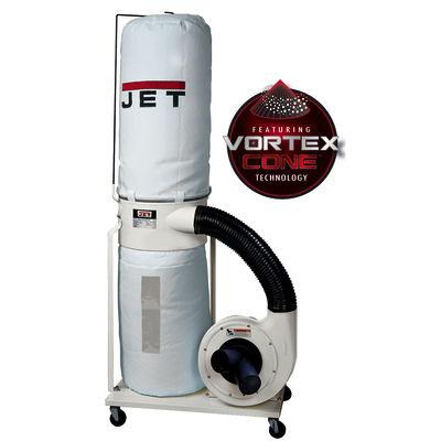 Vortex Cone Dust Collector, 2HP 3PH 230/460V, 30-Micron Bag Filter Kit, Model DC-1200VX-BK3