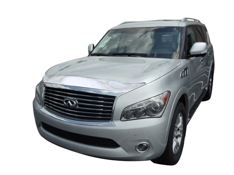 AVS 622040 Aeroskin Low Profile Hood Shield - Chrome Infiniti QX56 2011-2013