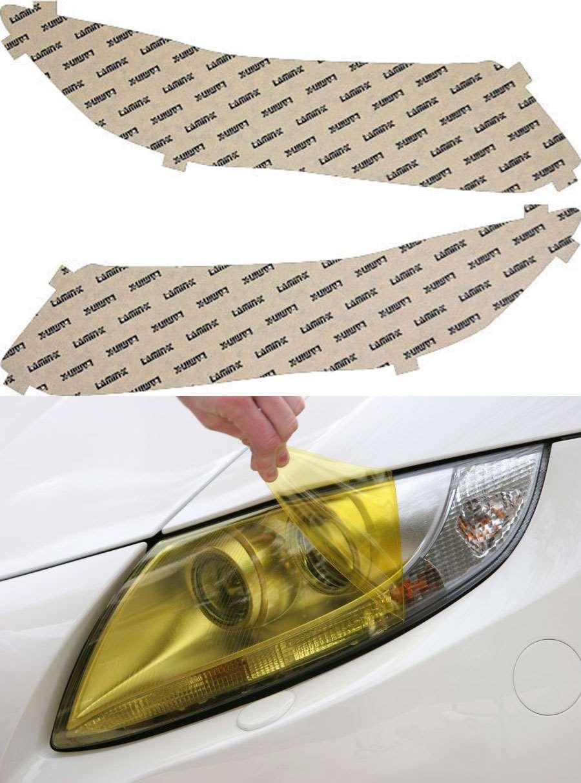 Honda Civic Coupe 12-13 Yellow Headlight Covers Lamin-X H041Y
