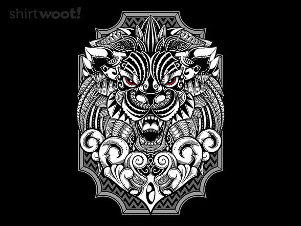 Barbarian Lion T Shirt