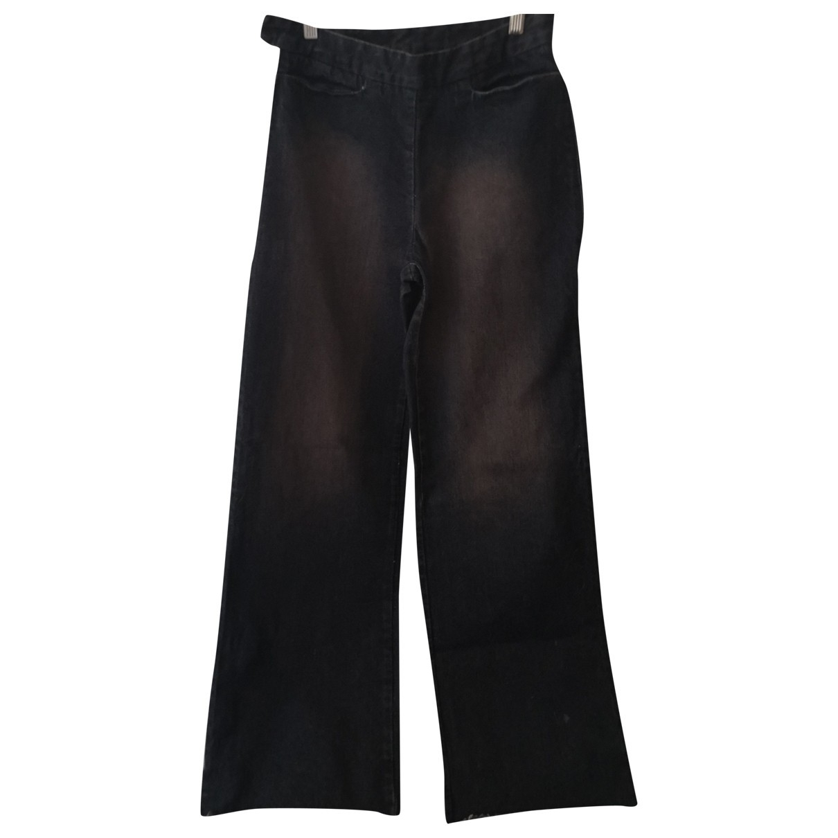 Mm6 \N Blue Denim - Jeans Jeans for Women 26 US