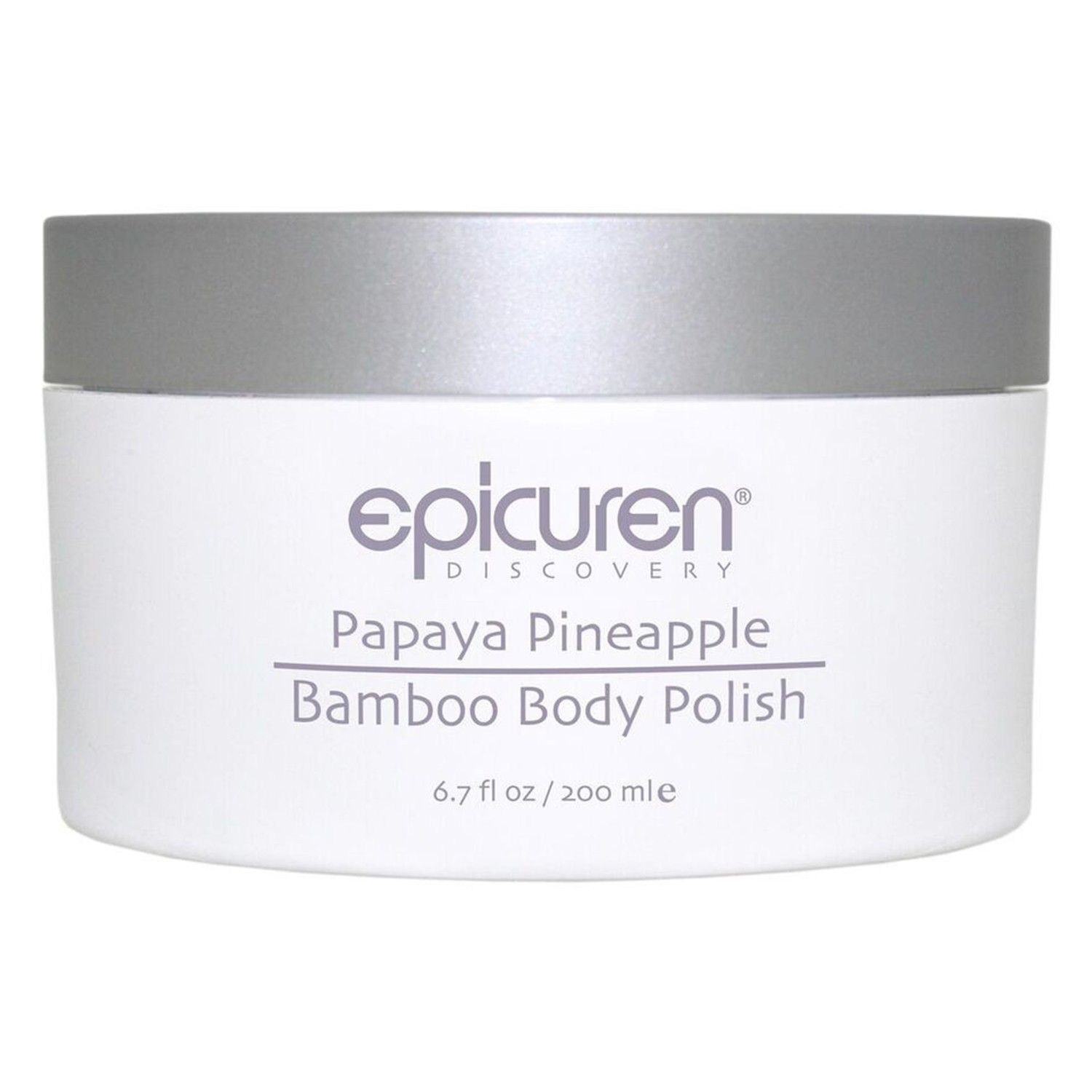 epicuren Discovery Papaya Pineapple Bamboo Body Polish (6.7 fl oz / 200 ml)