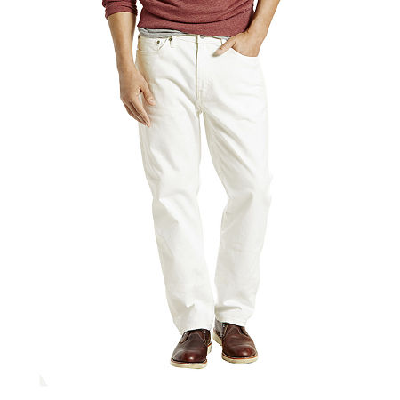 Levi's Men's 541 Athletic Fit Stretch Jeans, 36 34, White