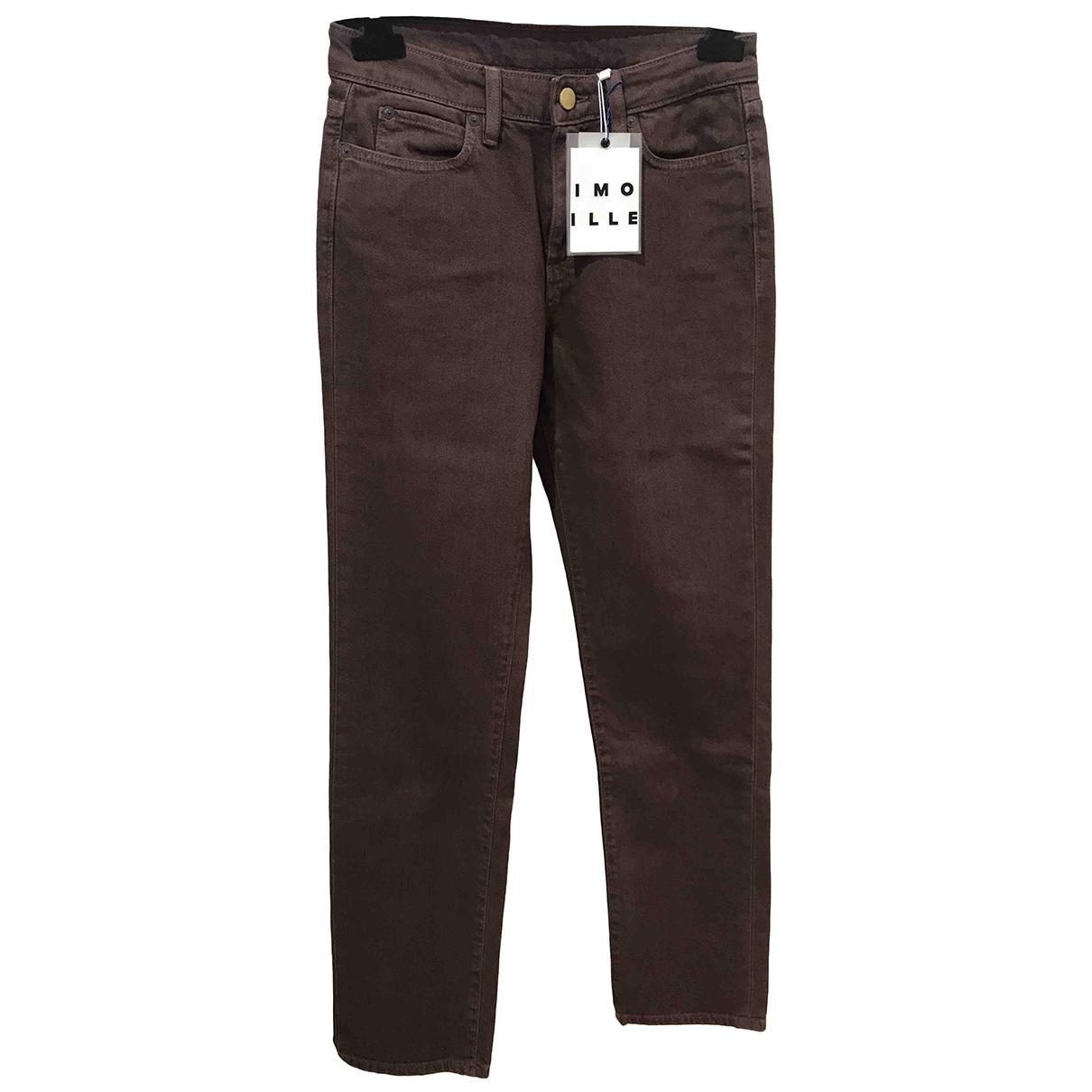Simon Miller \N Brown Cotton Jeans for Women 26 US