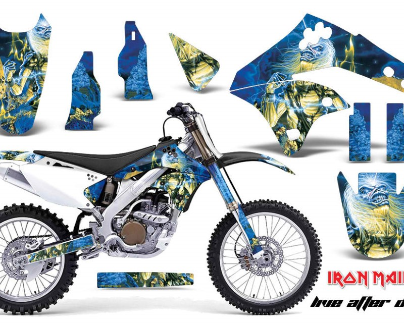 AMR Racing Dirt Bike Graphics Kit MX Decal Wrap For Kawasaki KX250F 2006-2008áIM LAD