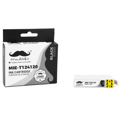 Epson 124 T124120 cartouche d'encre compatible noire - Moustache®