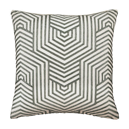 Signature Design by Ashley Adrik Square Throw Pillow, One Size , Gray