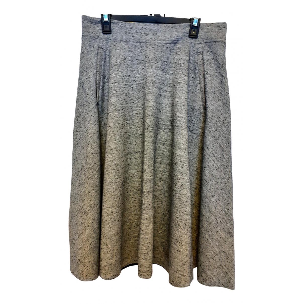 H&m Studio \N Grey skirt for Women 42 FR