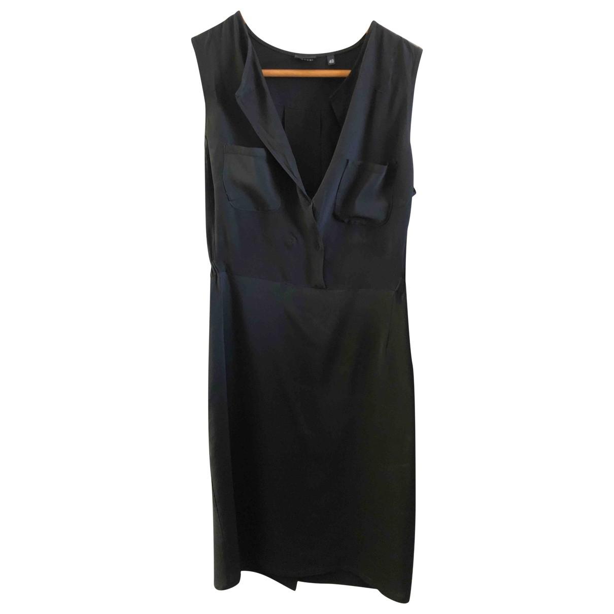 Aspesi \N Black Silk dress for Women 40 IT