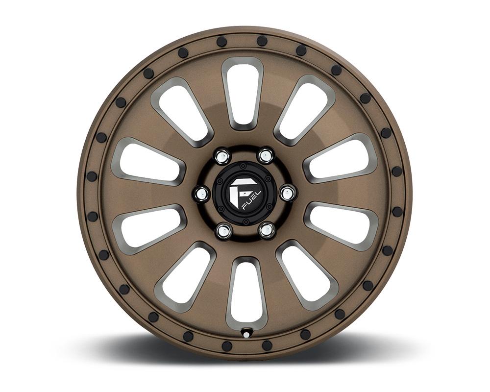 Fuel D678 Tactic Bronze w/ Black Bolts 1-Piece Cast Wheel 17x9 6x139.7 -12mm