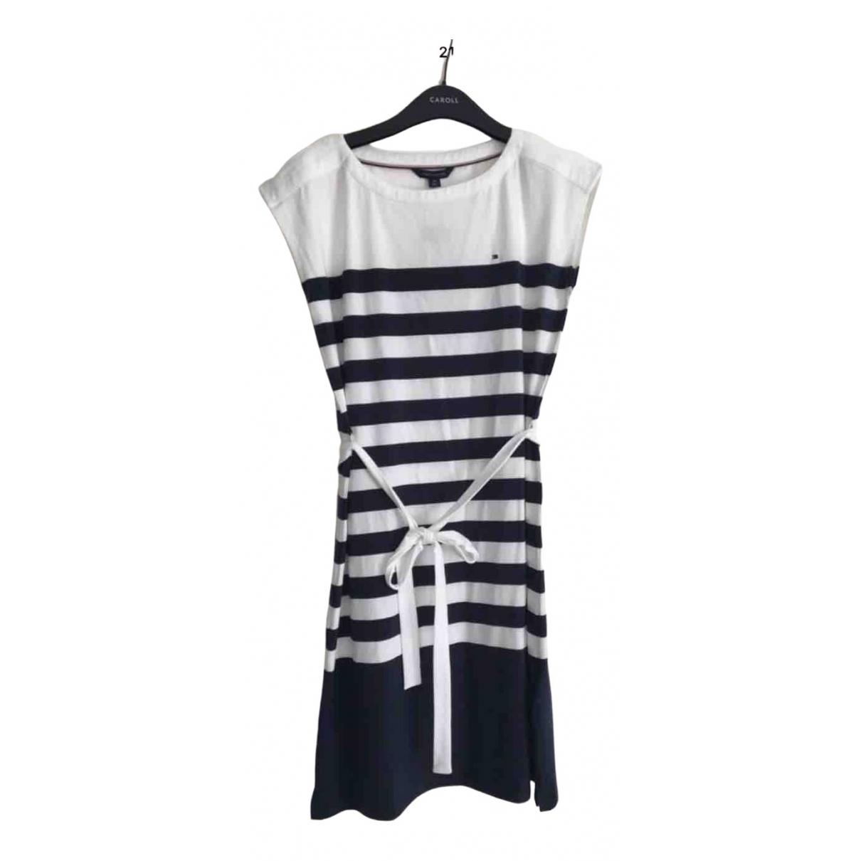 Tommy Hilfiger \N Navy Cotton dress for Women 36 FR