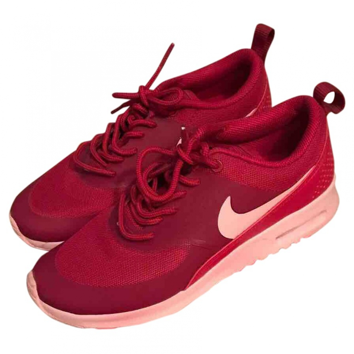 Nike Air Max  Pink Cloth Trainers for Women 37.5 EU