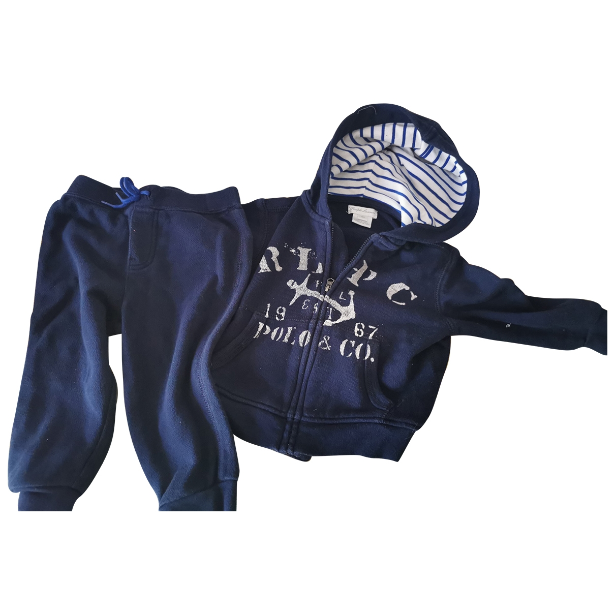 Ralph Lauren \N Blue Cotton Outfits for Kids 12 months - up to 74cm FR