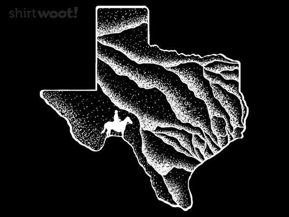 Mountains Of Texas T Shirt